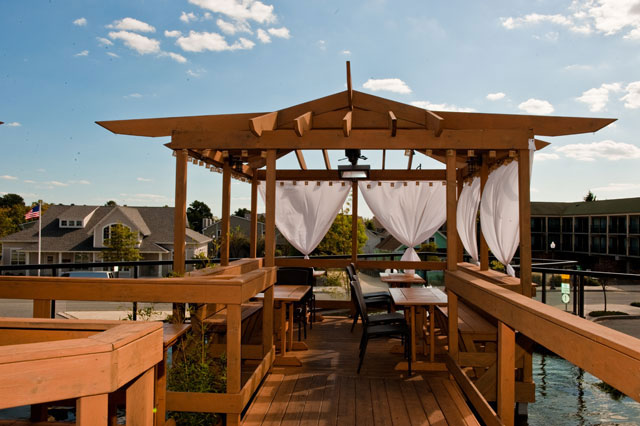 The Cultured Pearl Rooftop Deck