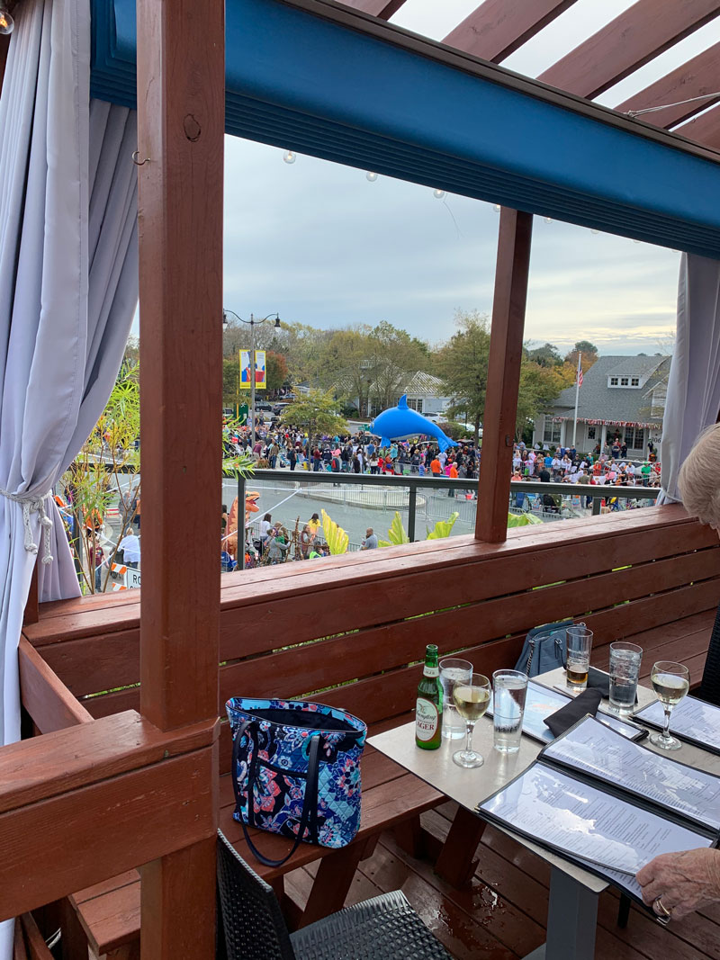 Sea Witch Festival 2019 Parade viewed from the Cultured Pearl deck