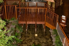Cultured Pearl Lobby Pond