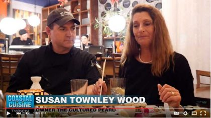 Coastal Cuisine Video of Sushi Night At The Cultured Pearl