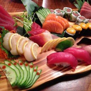 Rehoboth Beach Sushi -Sushi Sahimi Plate
