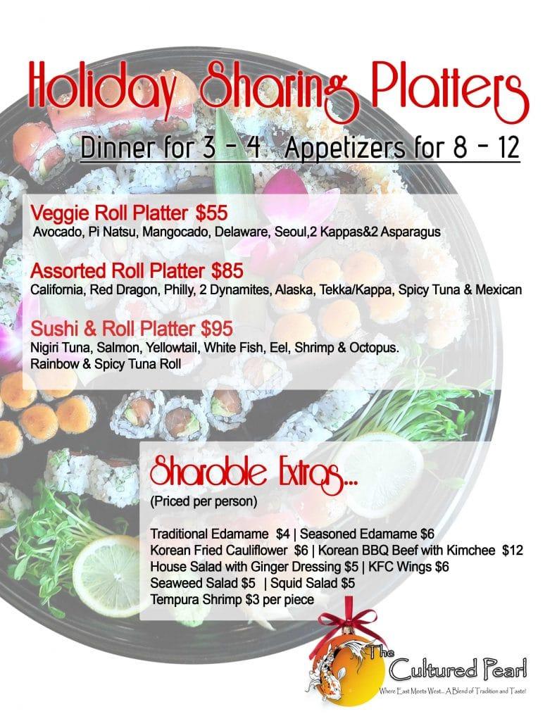 Holiday Sharing Platters